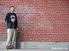 Skateboarder: Click for larger image