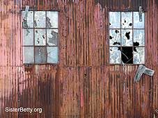 Rusted building: Click for larger image