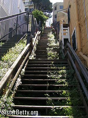 Iron Street Stairs Stairways Of San Francisco