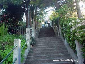 Filbert stairs